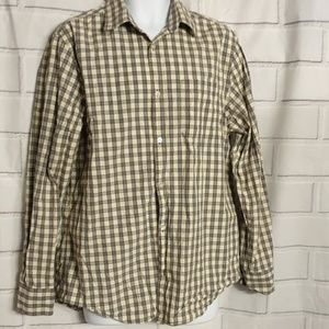 BANANA REPUBLIC long slive shirt for men (A)